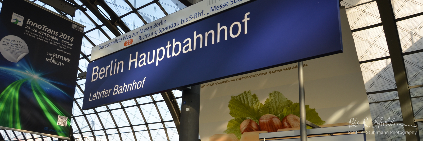 Ankunft am Berliner Hauptbahnhof.