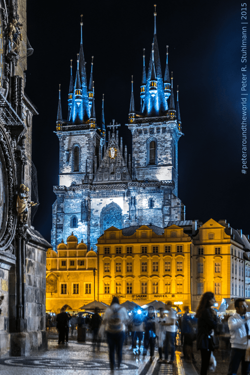 Hier haben wir den späten Abend in Prag mit Wein, einer Zigarre und natürlich Cola verbracht.