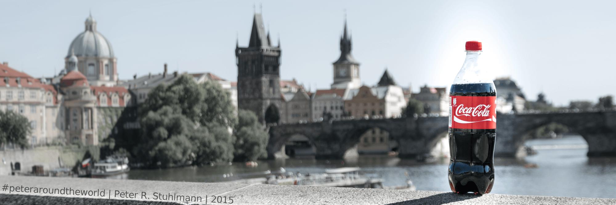 In Prag ist ein weiteres Bild für meine #cokearoundtheworld-Serie enstanden.