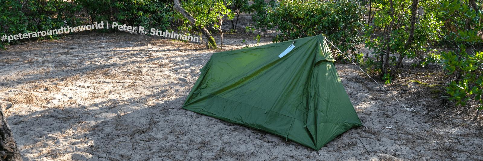 2014 auf dem Campingplatz in Arcachon, Frankreich