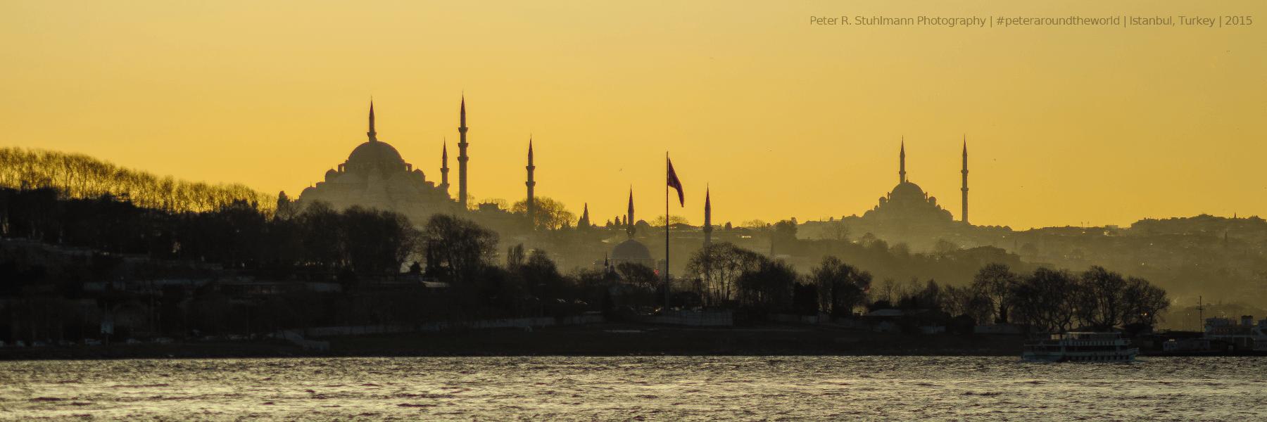Istanbul - Die schöne Stadt am Bosporus bietet zahlreiche Sehenswürdigkeiten.