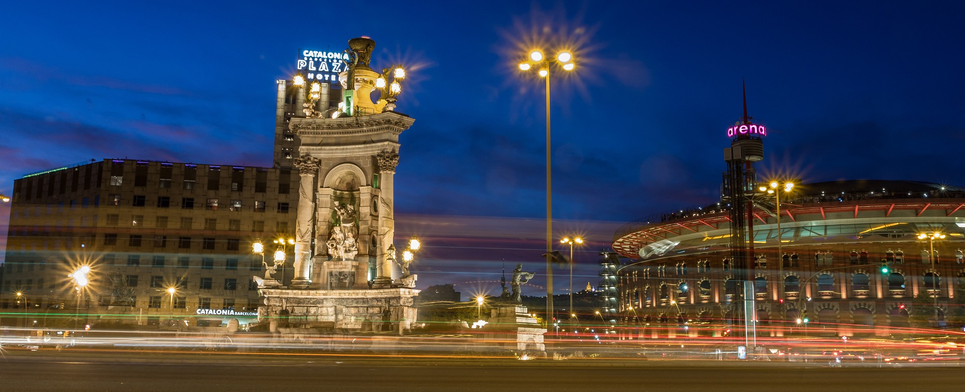 Städtefotografie Barcelona: Plaça d'Espanya