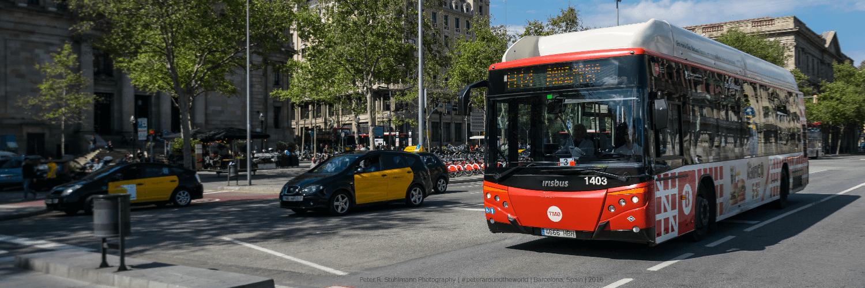 Barcelona Flughafentransfer: TMB-Bus vs. Taxi