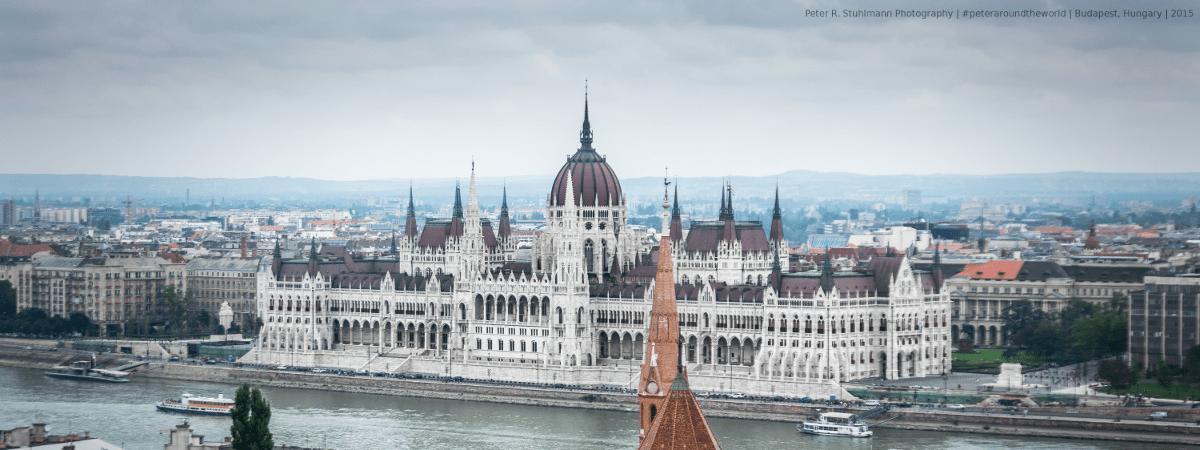 Jahresrückblick 2015: #BuWiPra-Tour:  Parlamentsgebäude in Budapest