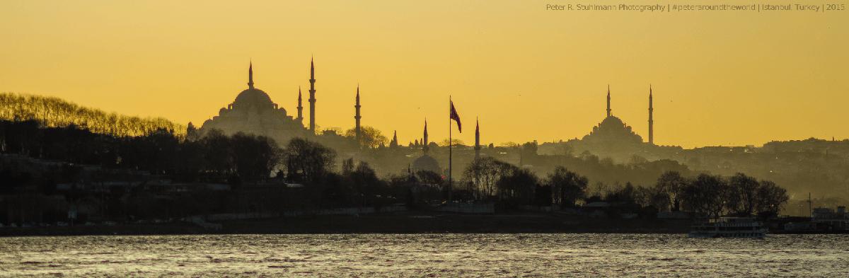 Jahresrückblick 2015 - Istanbul Sonnenuntergang