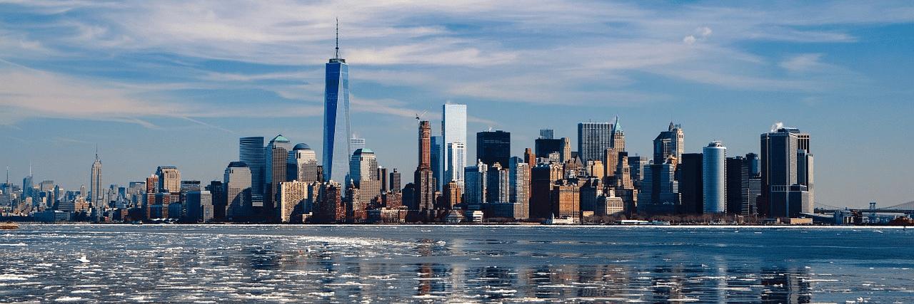 Nach dem Abitur ins Ausland: New York City - Skyline Manhattan