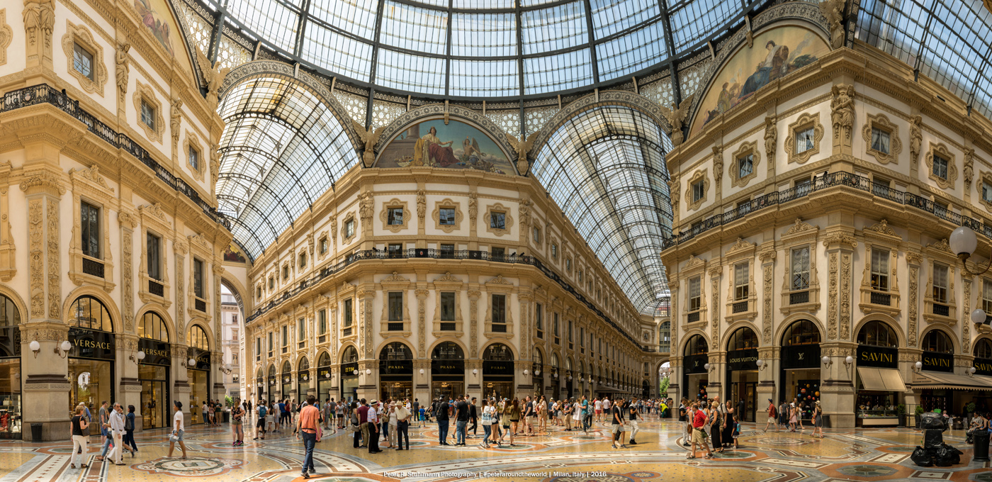 Jahresrückblick 2016: Mailand Galleria Vittorio Emanuele II