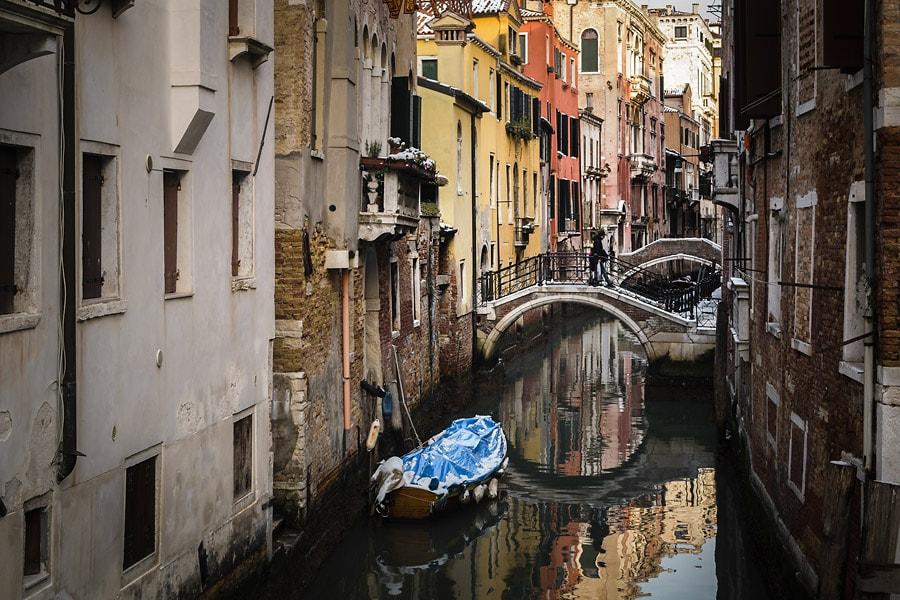 Venezianischer Kanal | #peteraroundtheworld